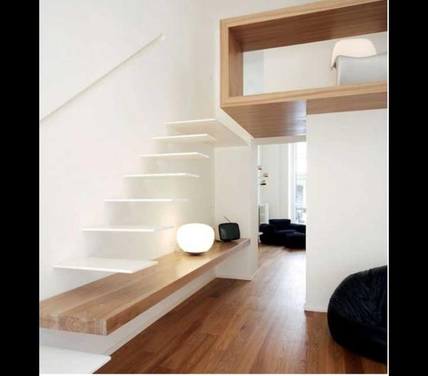 Escadas modernas blog m veis planejados artezanal for Sala de estar png