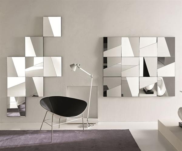 Espelhos na decoração Blog Móveis Planejados  ~ Tapetes Quarto Aki